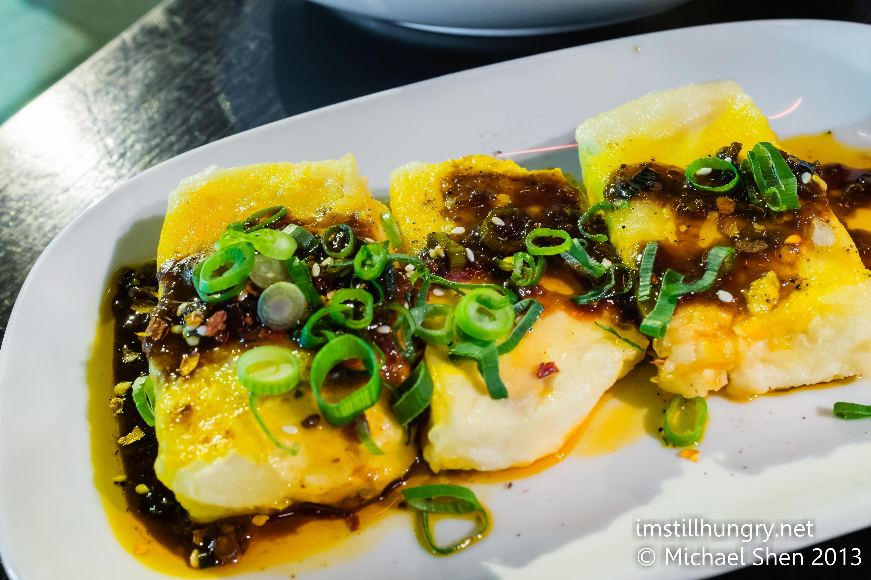 Deep fried tofu w/five flavoured sauce Bar H