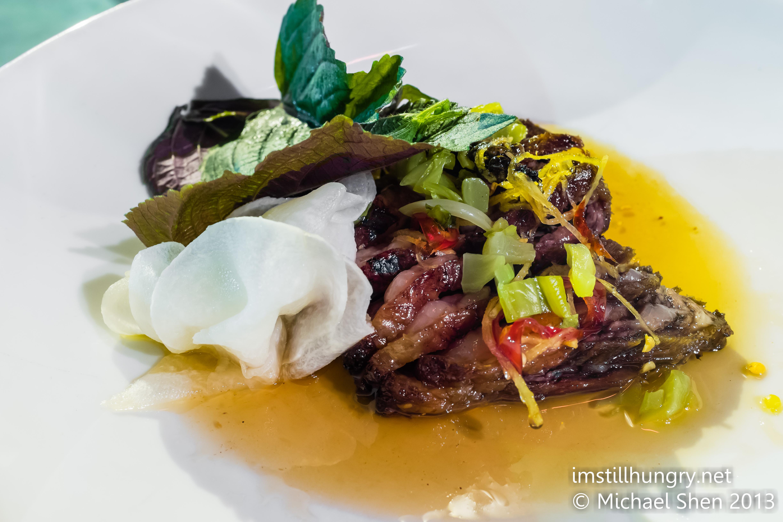 Caramelised beef rib Bar H Sydney