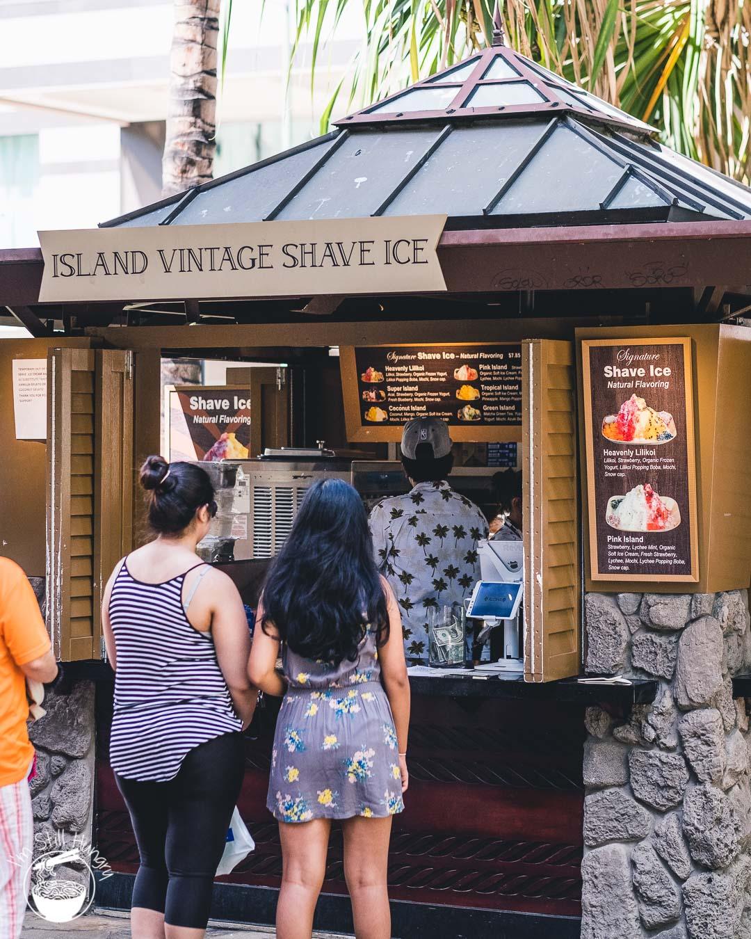 Island Vintage Shave Ice