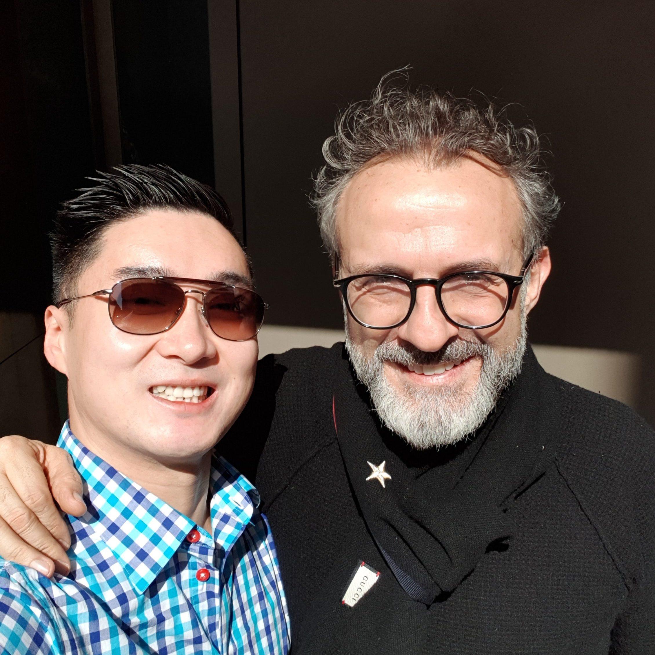 Massimo Bottura Selfie
