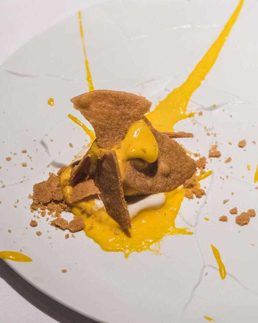 Osteria Francescana Oops I Dropped the Lemon Tart
