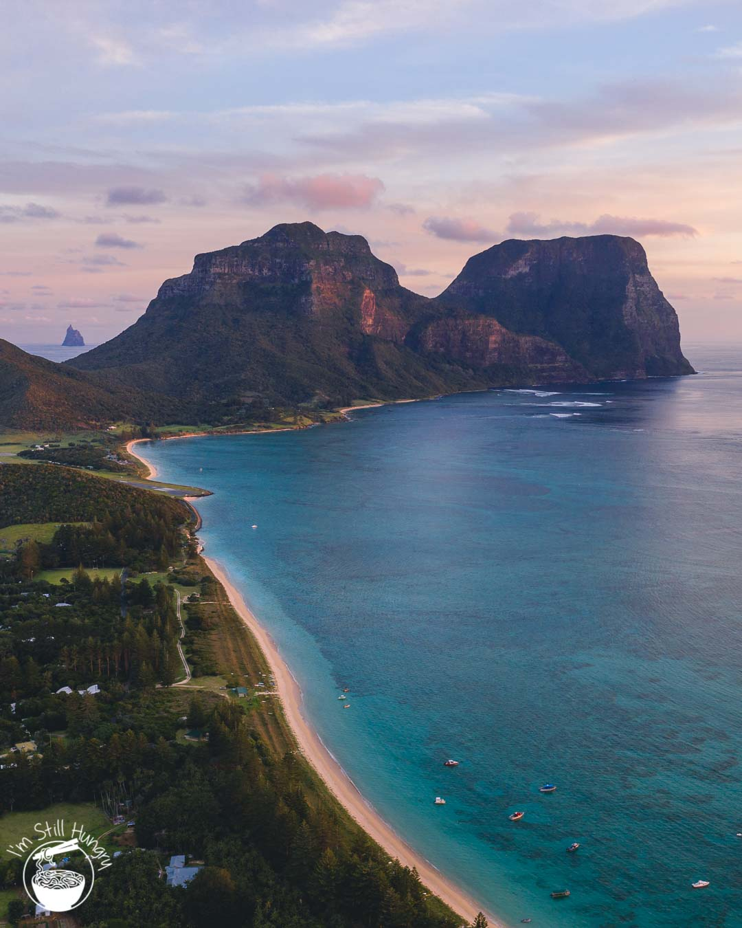 Lord Howe Island Sunset