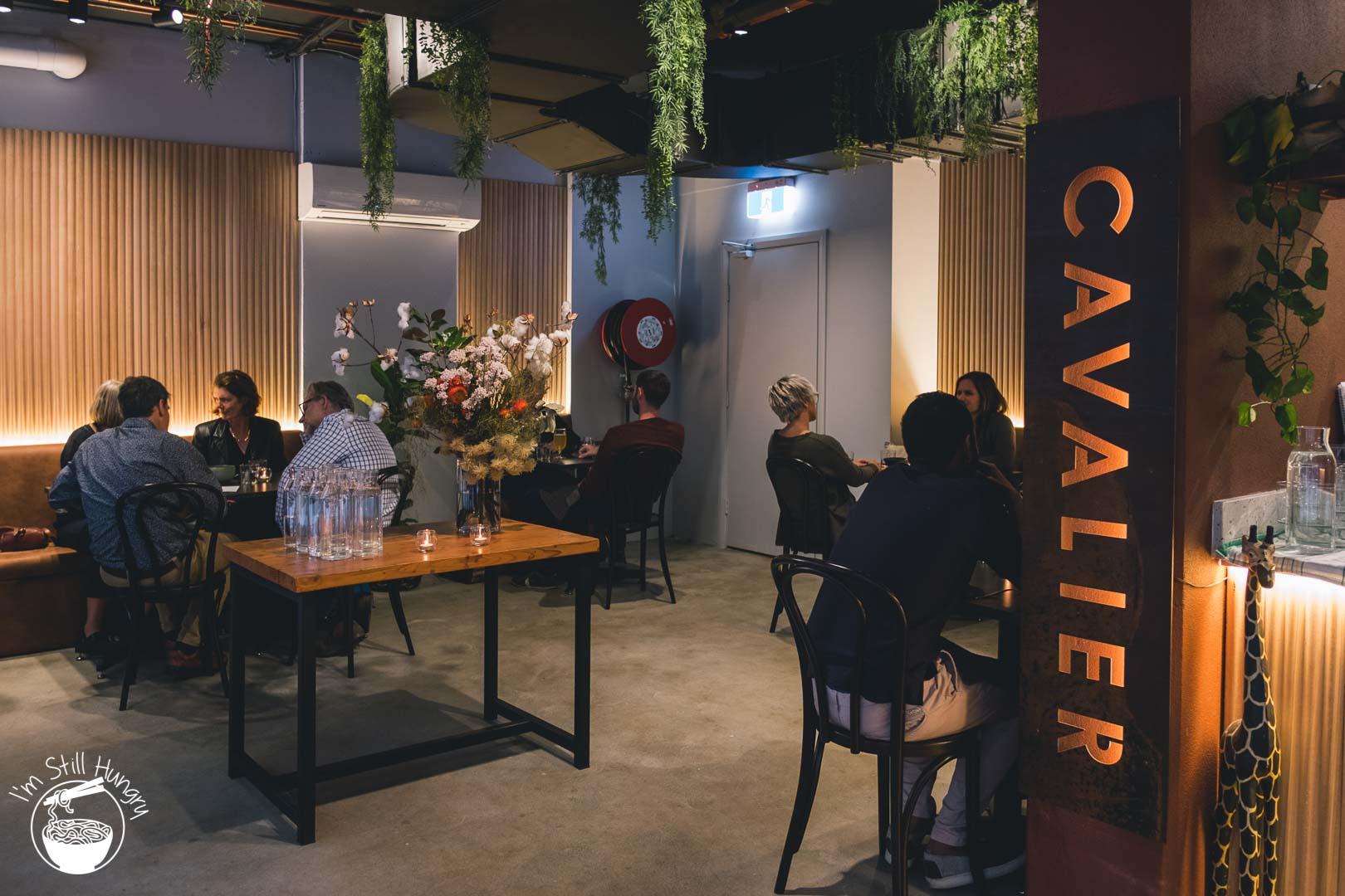 Cavalier Espresso Invitation Dinner
