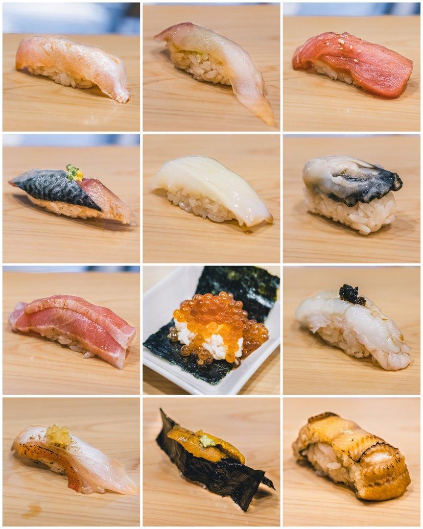 Gold Class Daruma Sushi Omakase