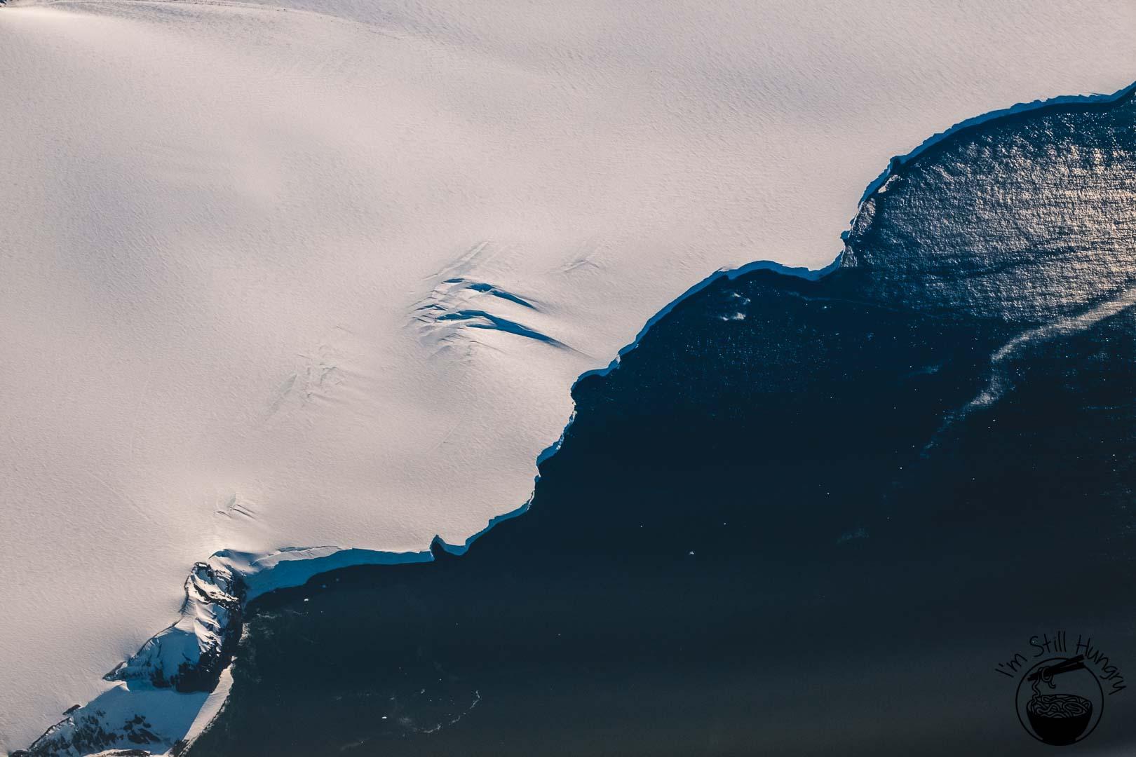 A Sightseeing Flight Over Antarctica