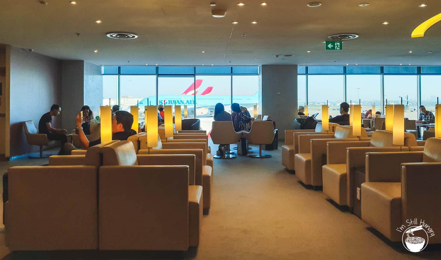 Skyteam Lounge Sydney Airport