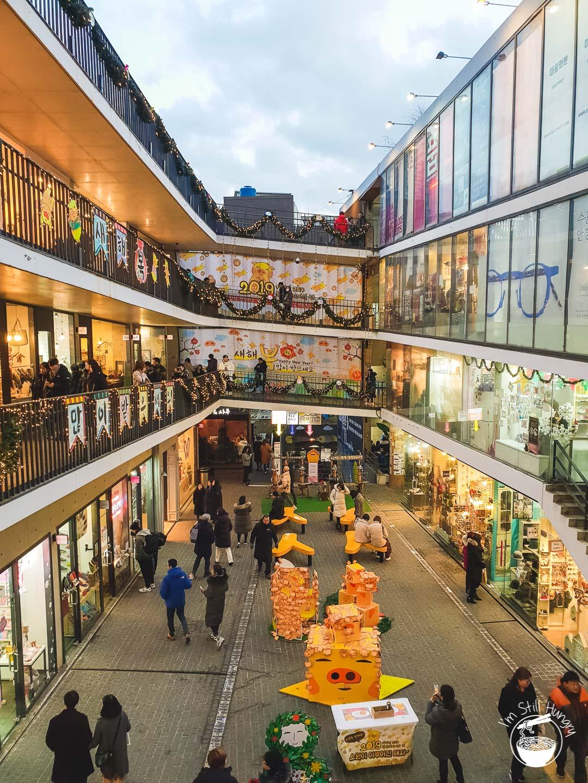Ssamziegil Market Insadong