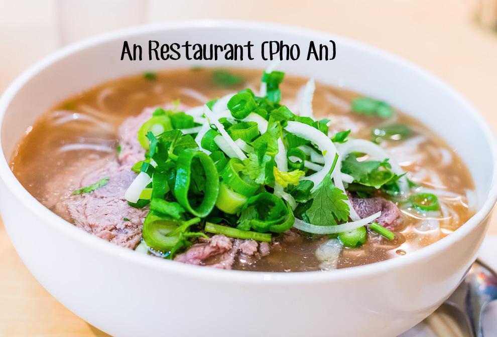 West Restaurant Reviews