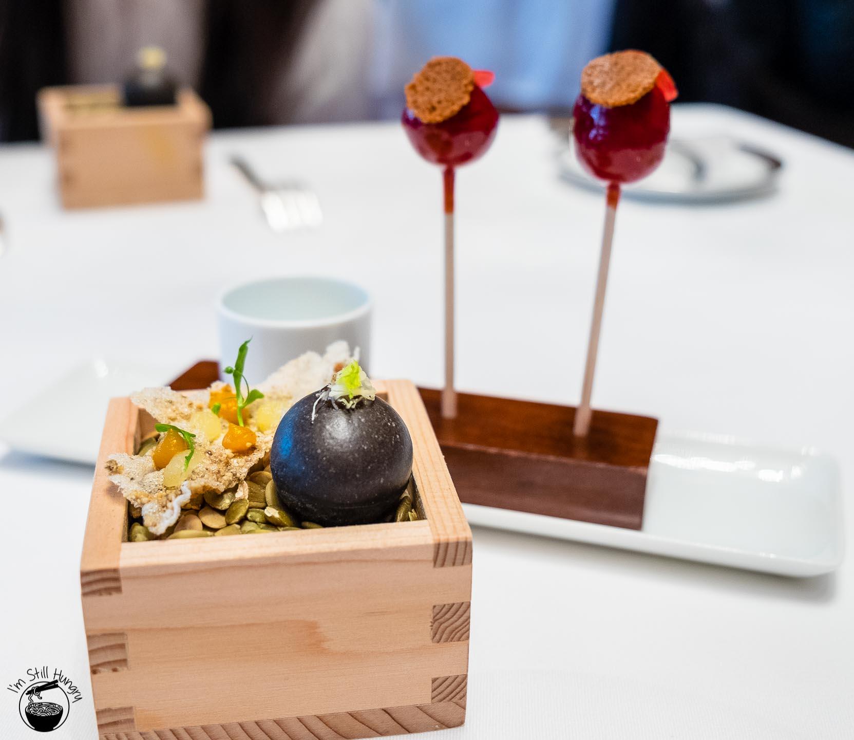Restaurant Amber Hong Kong