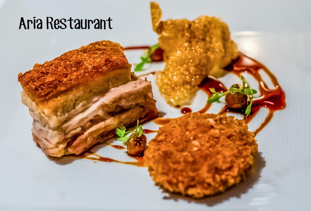 Aria Restaurant Sydney Menu