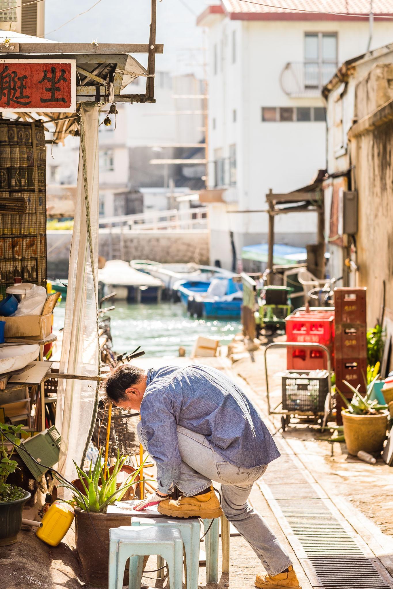Tai O Hong Kong