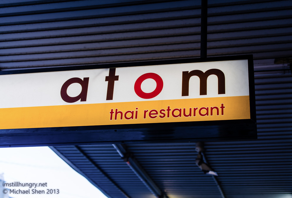 Atom Thai Cover