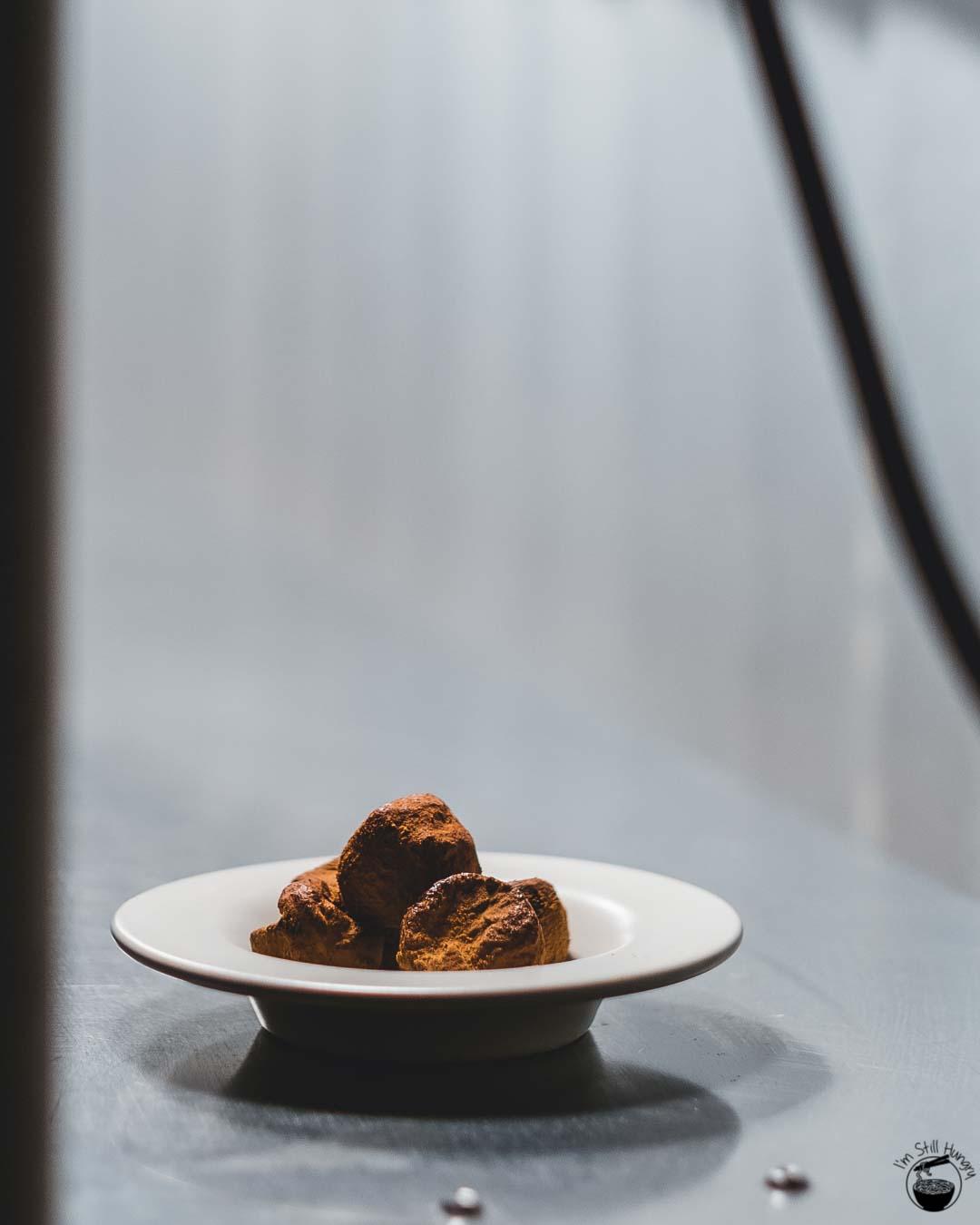 Blue Wren Restaurant Chocolate truffles