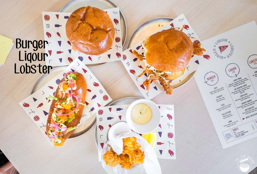 Burger Liquour Lobster Cover