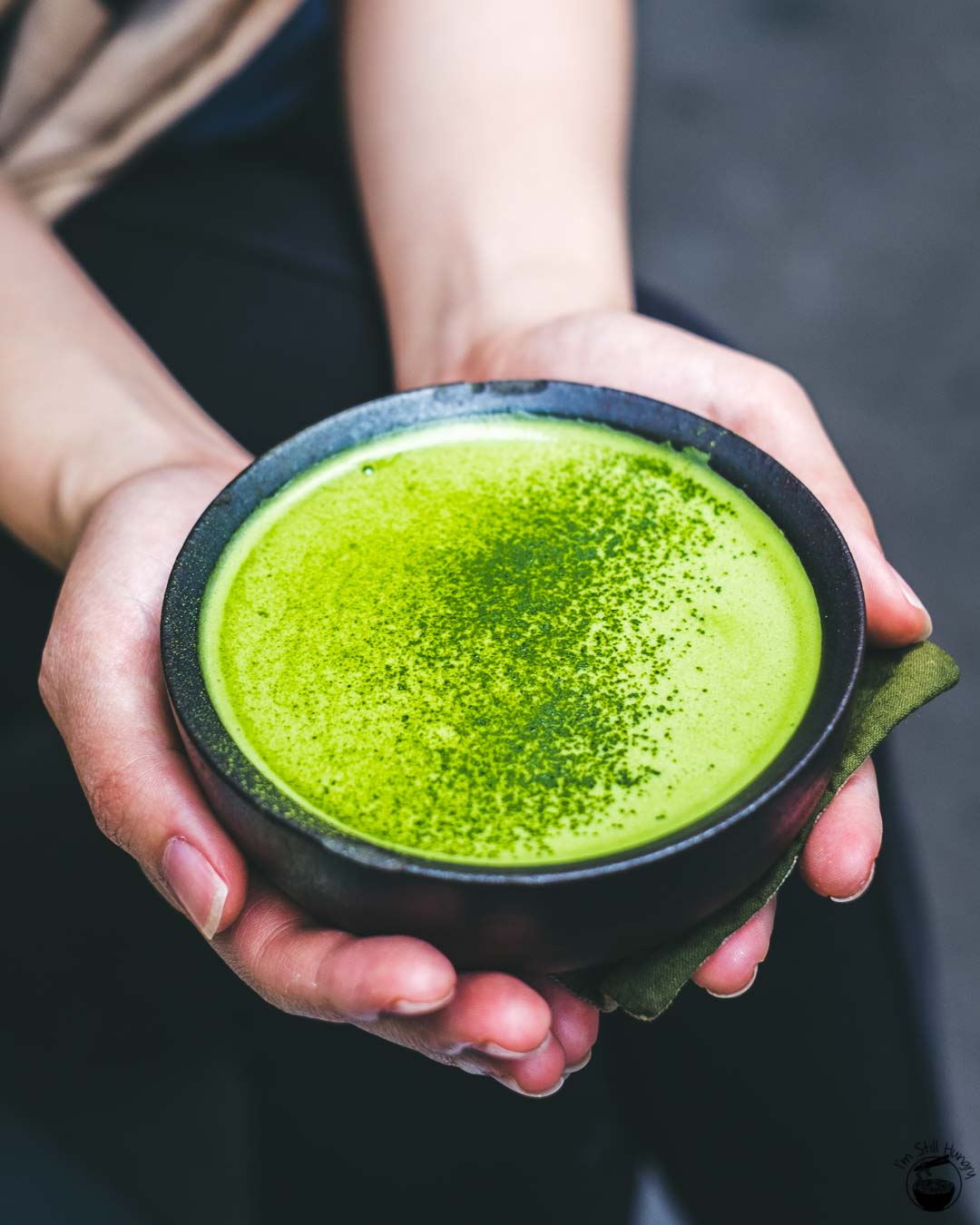 Cafe Cre Asion matcha latte