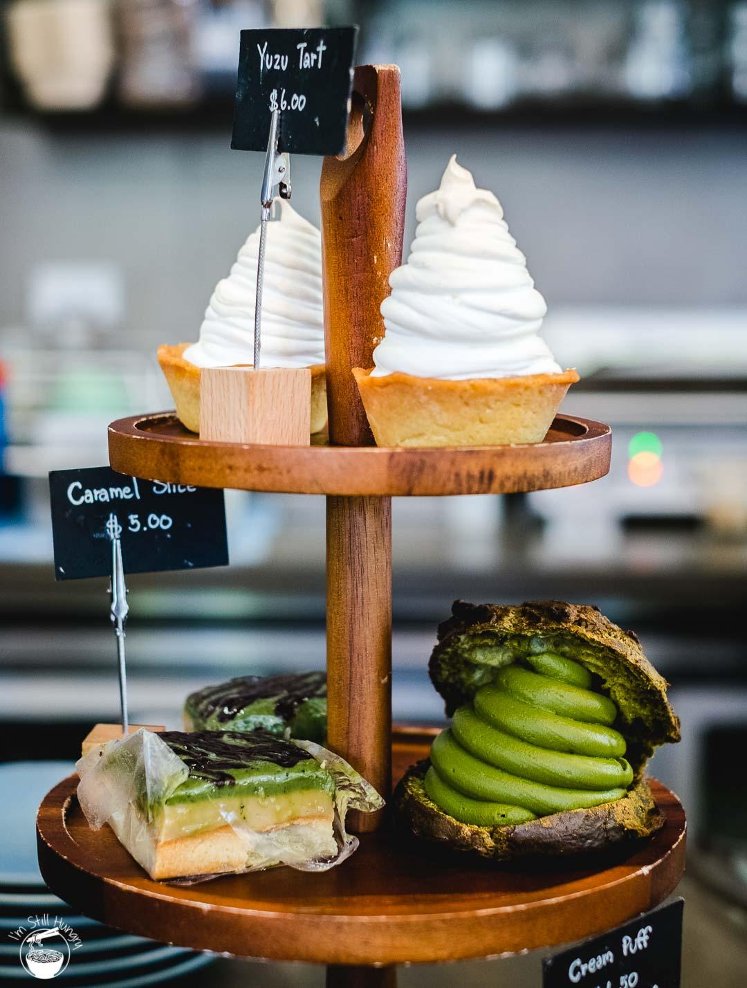 Cafe Kentaro Surry Hills desserts