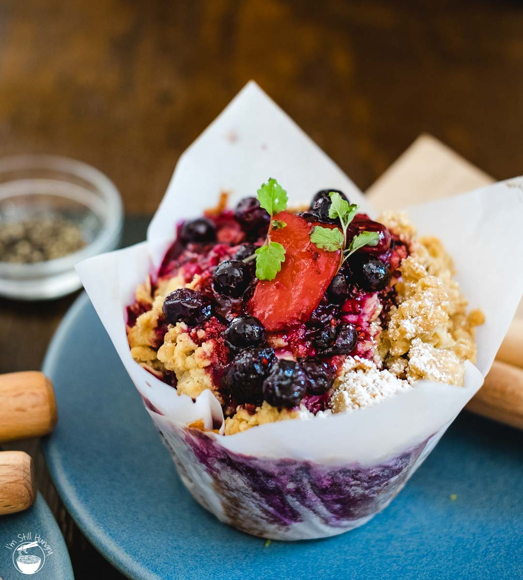 Cafe Kentaro Surry Hills blueberry muffin