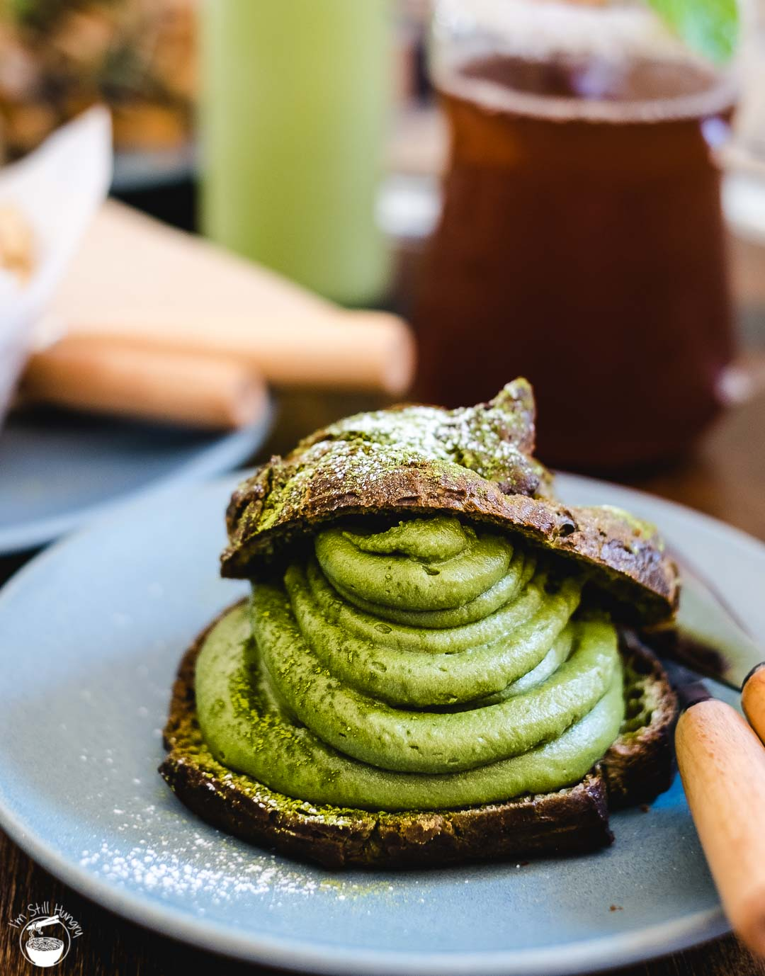Cafe Kentaro Surry Hills cream puff