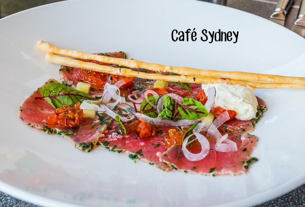 Cafe Sydney Cover