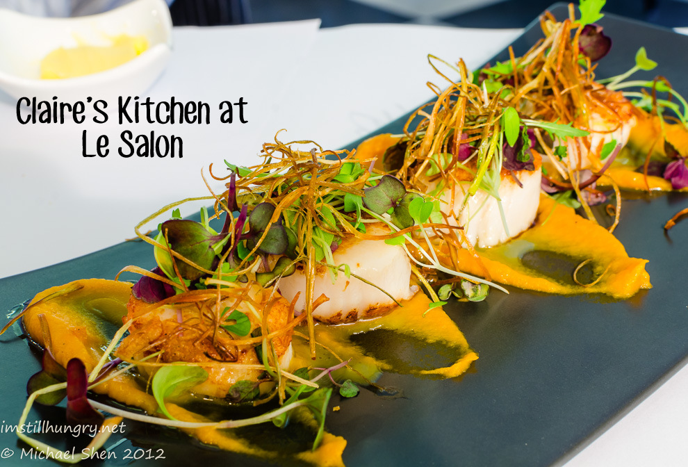 Claire's Kitchen at Le Salon Cover