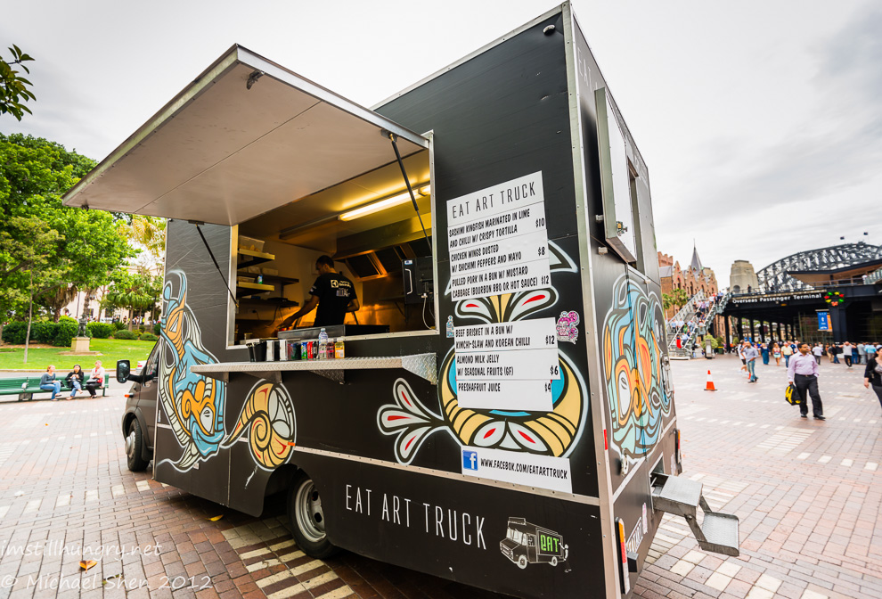 Eat Art Truck Cover