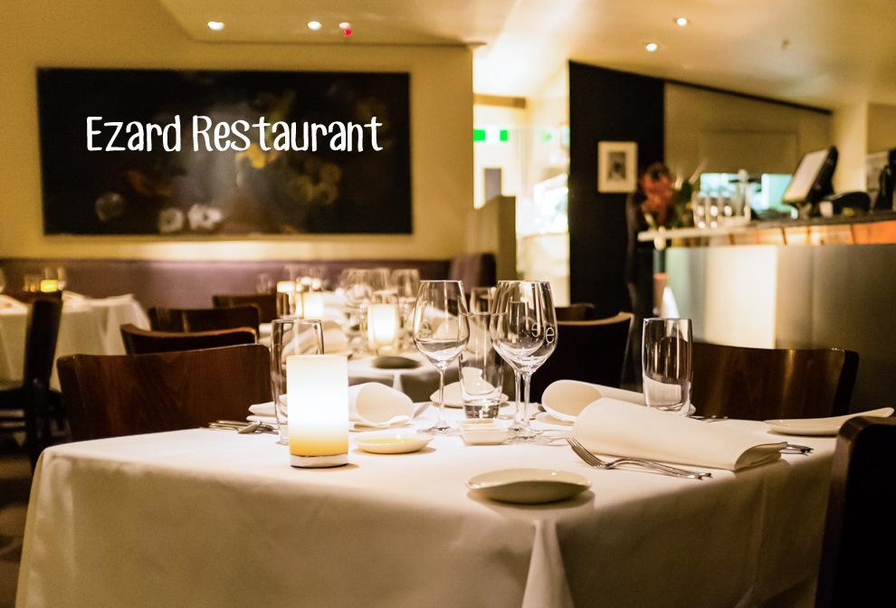 Ezard Restaurant Cover
