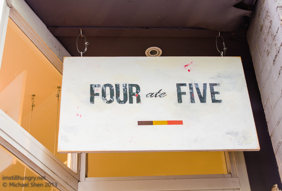 Four ate Five Cover