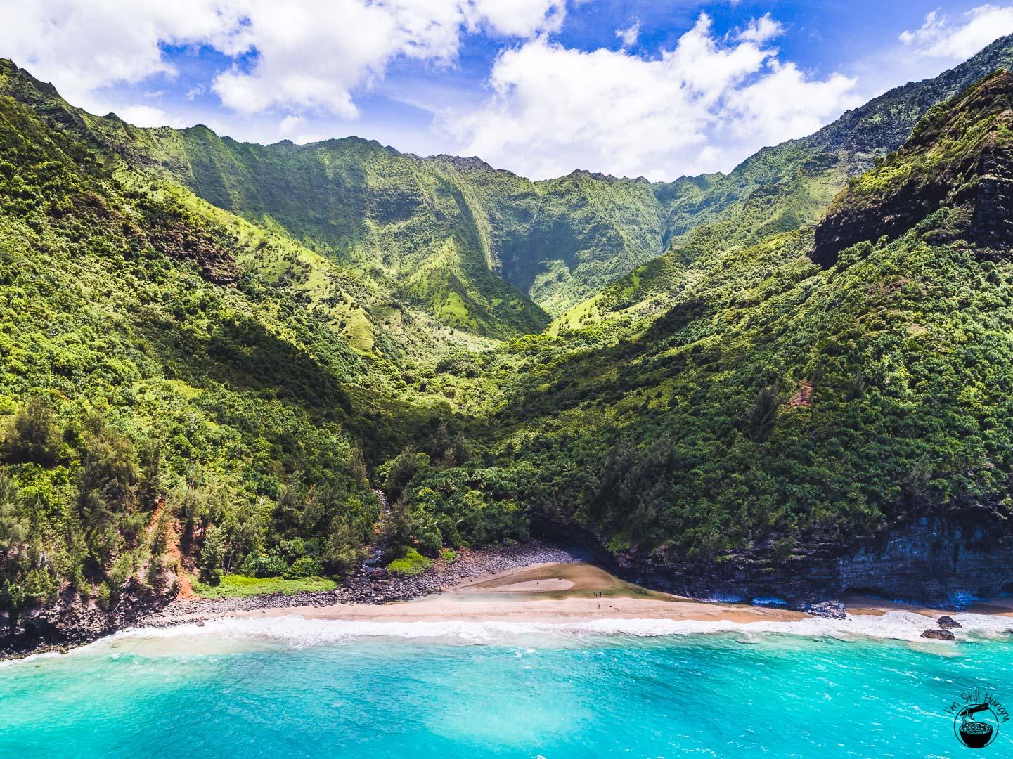 Hanakapiai Beach Kauai Hawaii