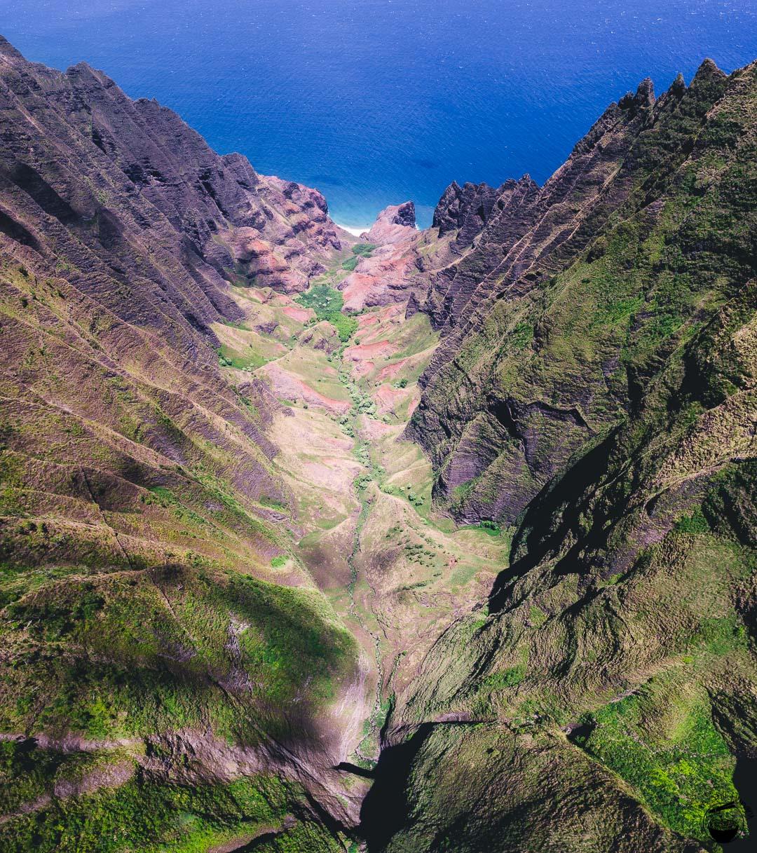 Honopu Ridge Trail Kauai Hawaii