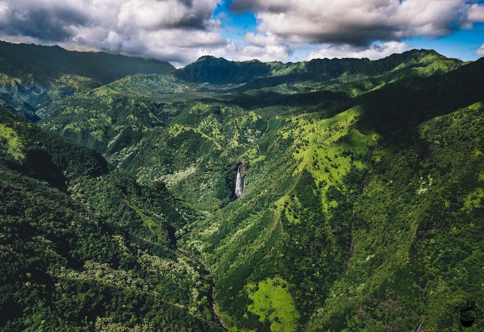 Jurassic Falls Kauai Hawaii