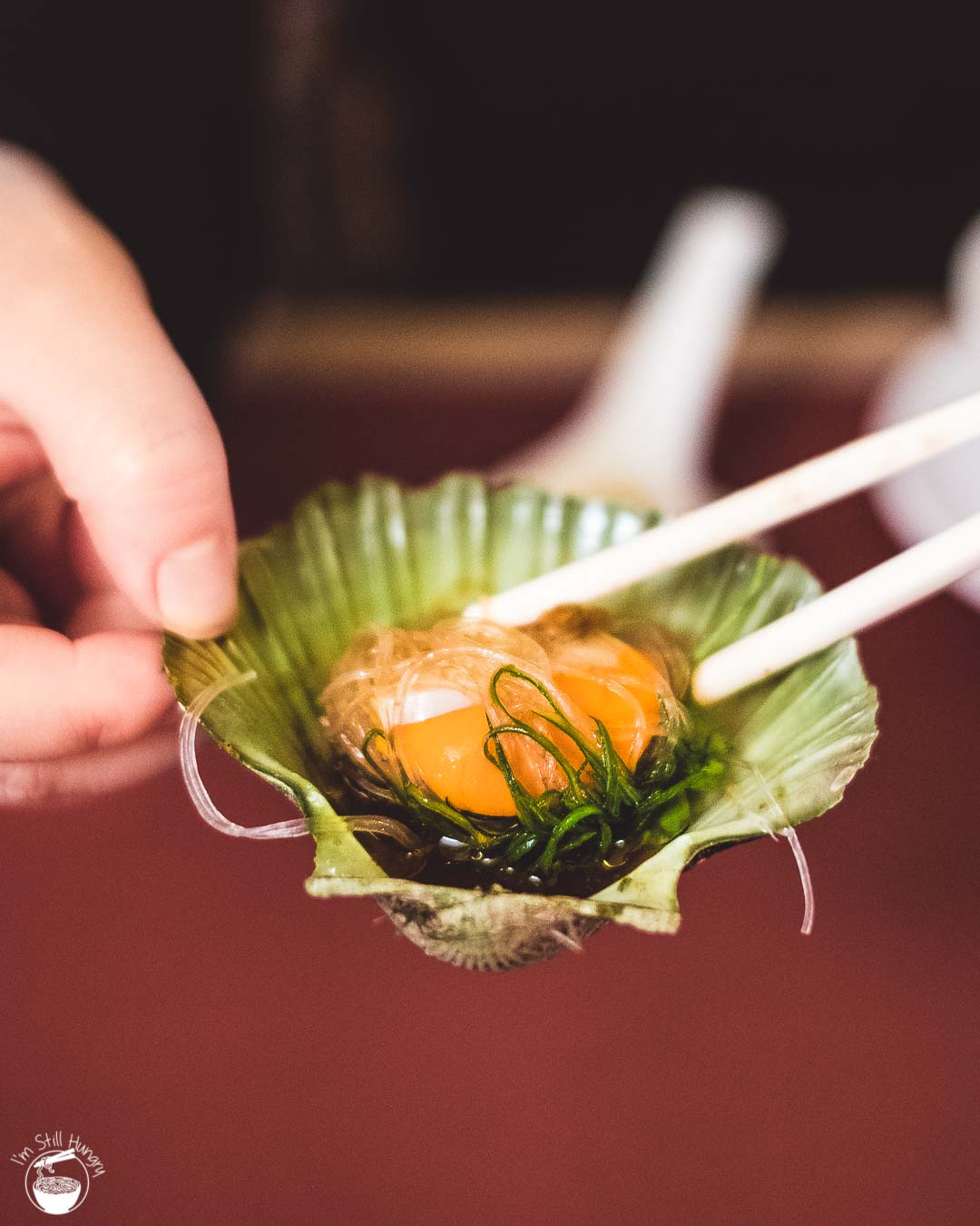 Jade Temple Sydney Neil Perry Steamed scallop w/vermicelli, ginger & shallot
