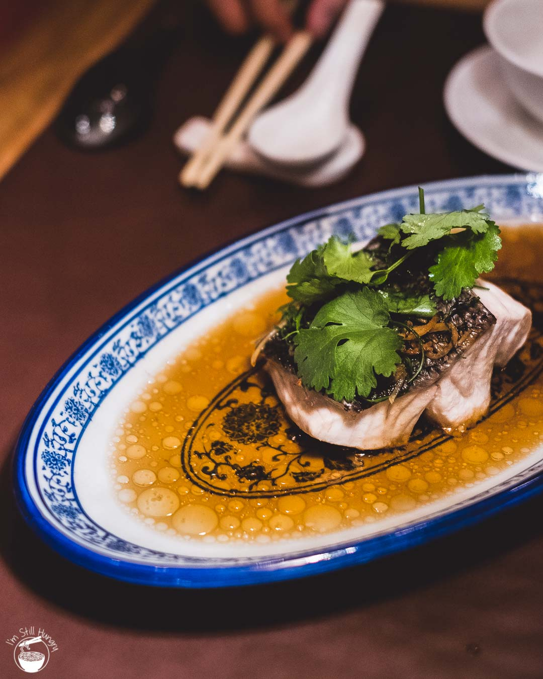 Jade Temple Sydney Neil Perry Steamed blue eye w/ginger & shallot
