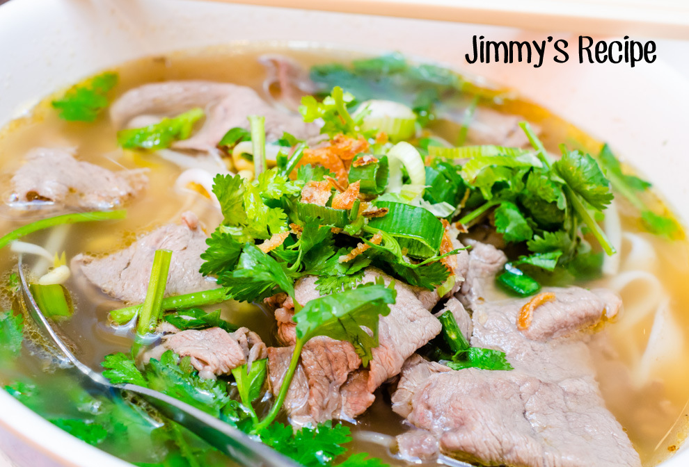 Jimmy's Recipe Cover
