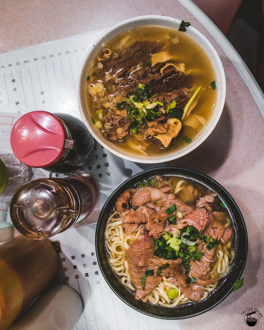 Kau Kee Hong Kong Beef brisket & sliced beef noodles