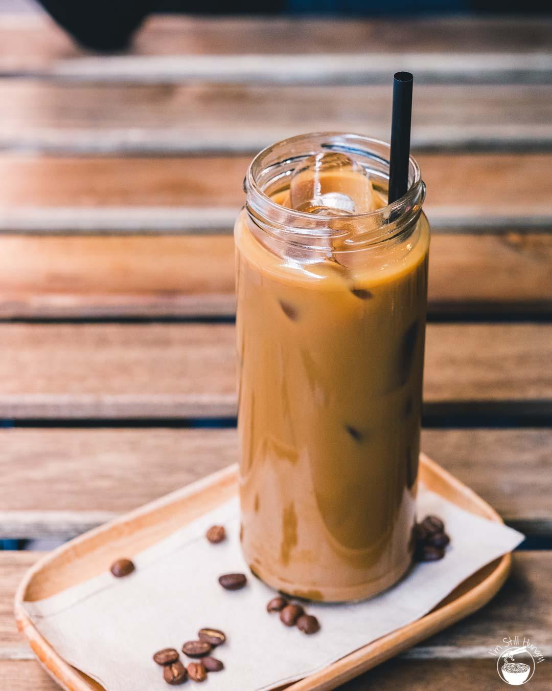 Kusuka Cafe Kopi susu: traditional sweetened Indonesial milk coffee
