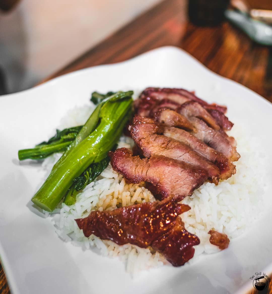 Kwan Yu Roast Meat Hong Kong Char siu rice