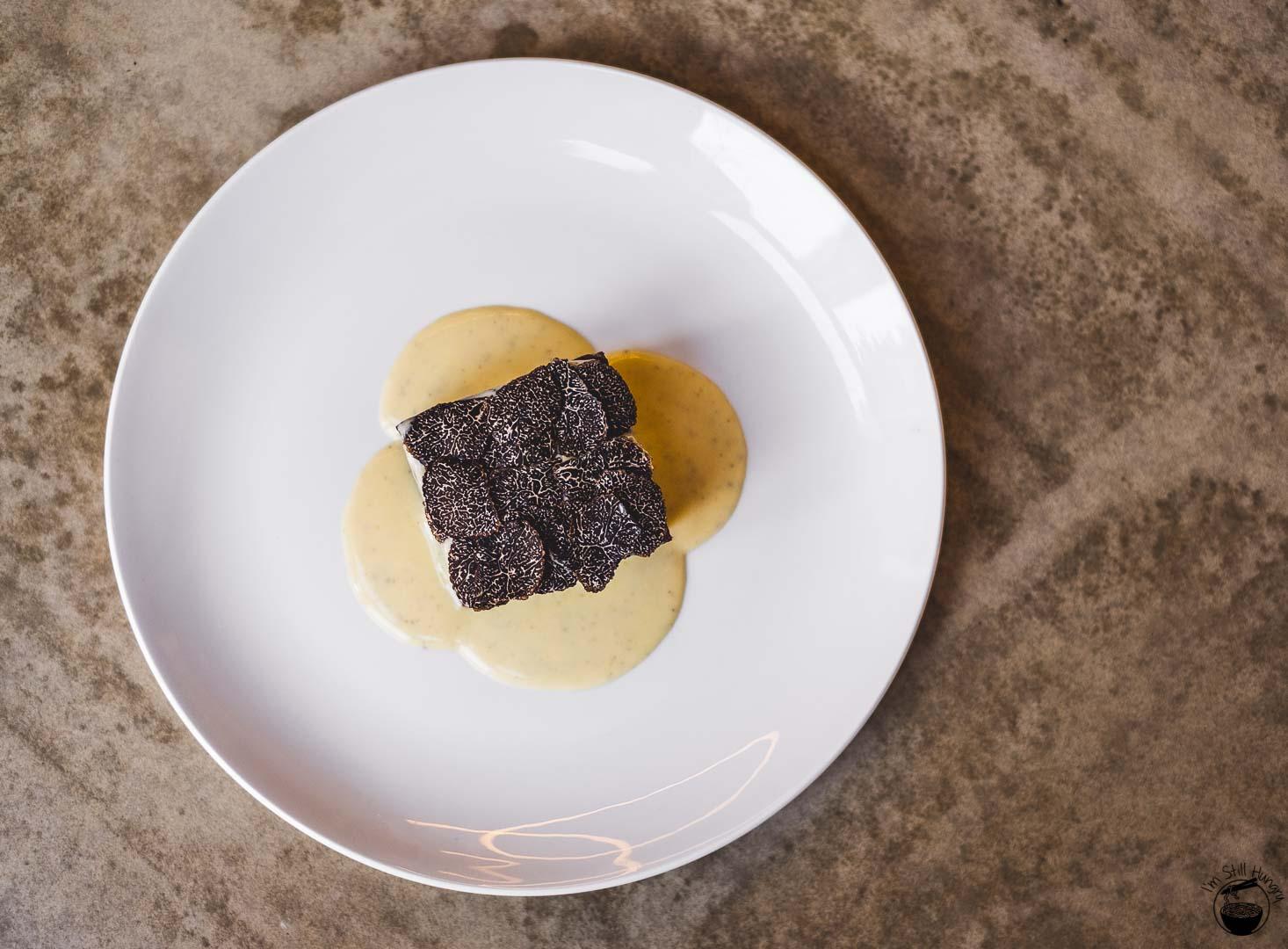 Lucky Suzie 18-layer taro cake w/truffle custard & shaved truffle