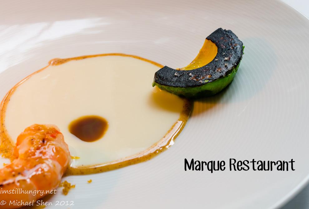 Marque Restaurant Cover