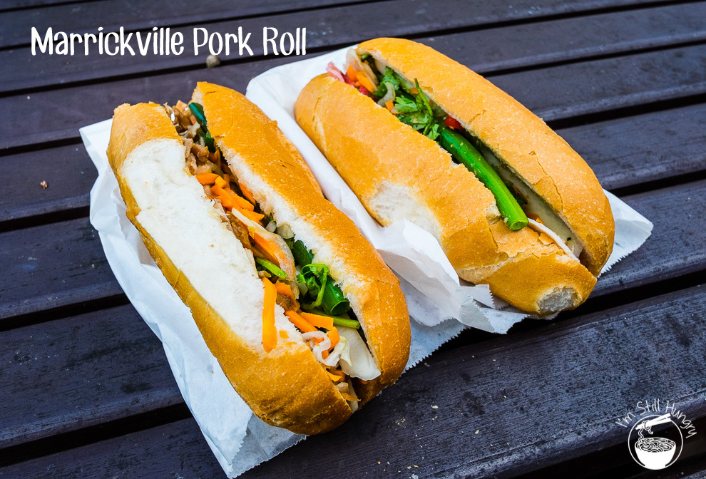 Marrickville Pork Roll Cover