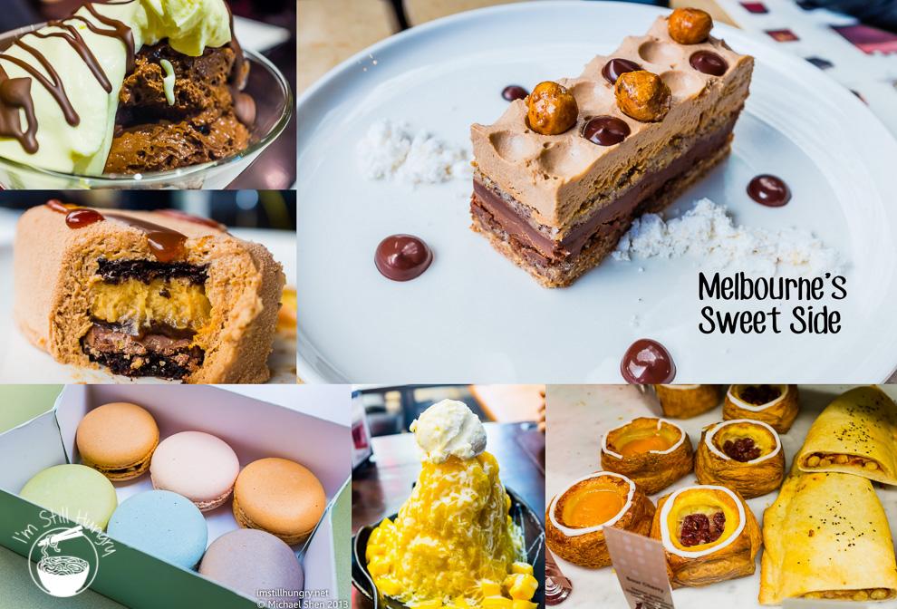 Melbourne Sweets Cover, Chokolait, Brioche by Philip, Dessert Story, Koko Black, La Belle Miette