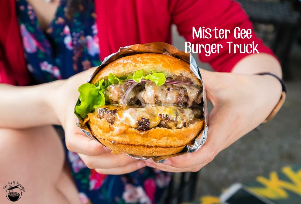 Mister Gee Burger Truck Cover