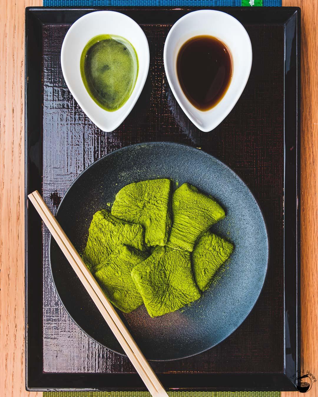 Nakamura Tokichi Hong Kong-2 Matcha warabi mochi