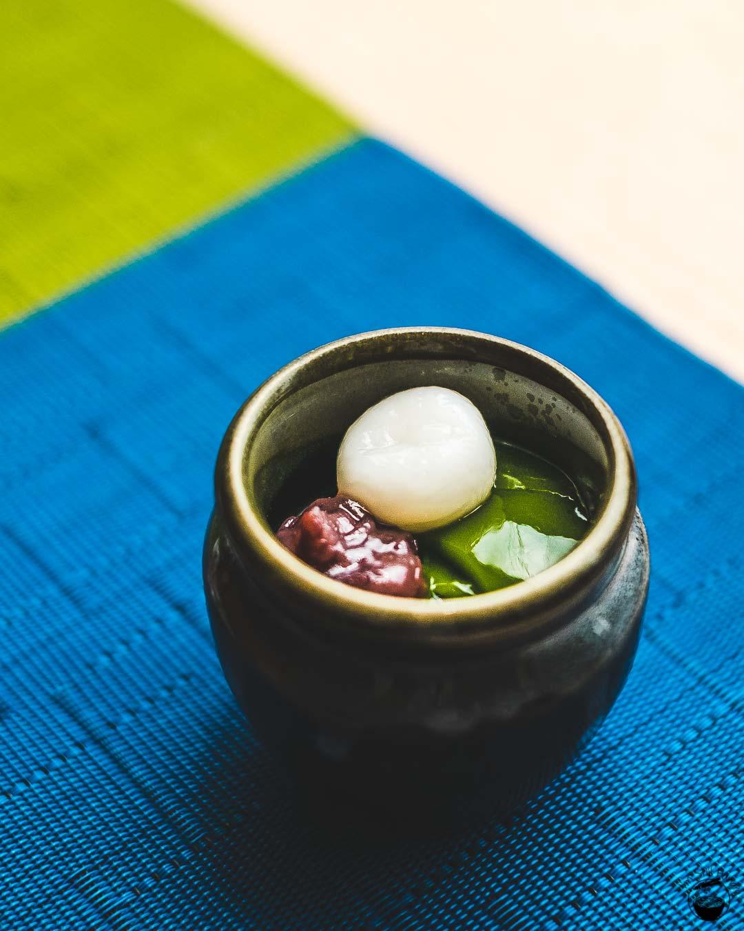 Nakamura Tokichi Hong Kong-5 Matcha jelly, azuki, dango