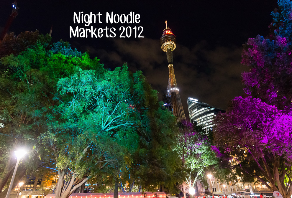Night Noodle Markets 2012 Cover