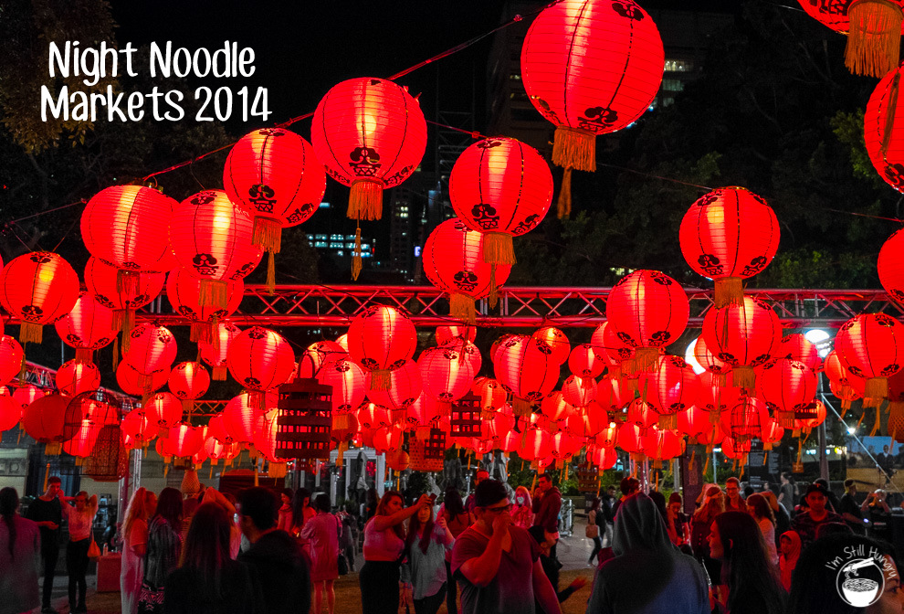 Night Noodle Markets 2014 Cover