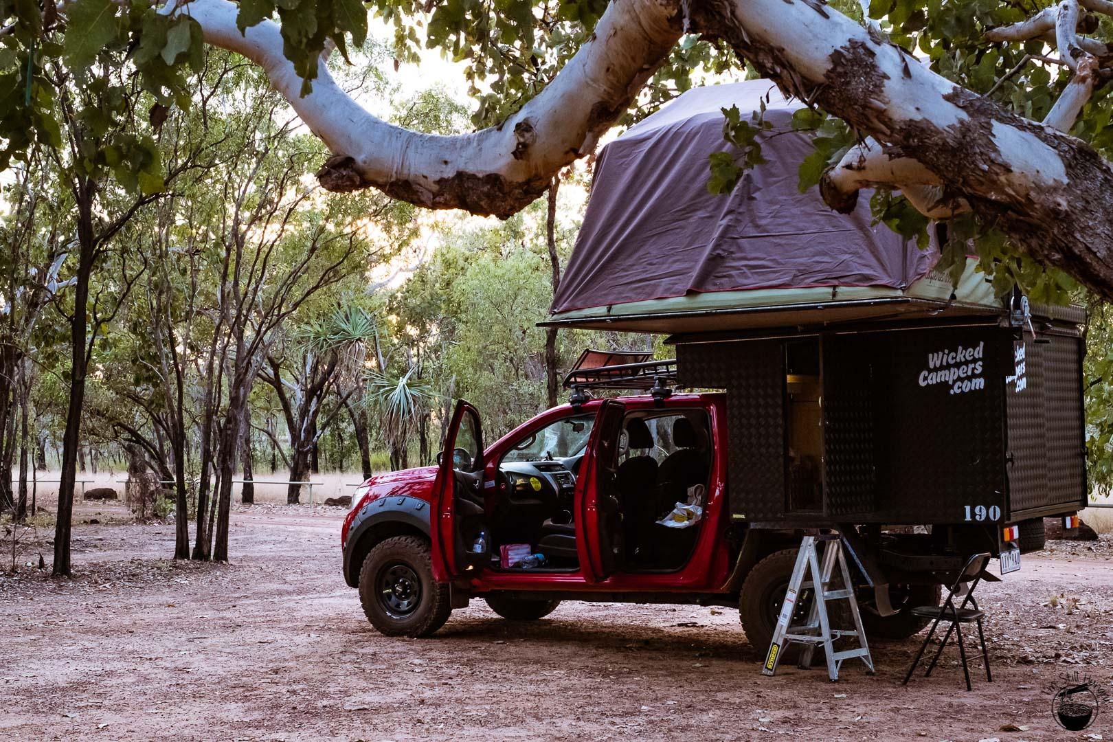 Kakadu National Park Wicked Campers