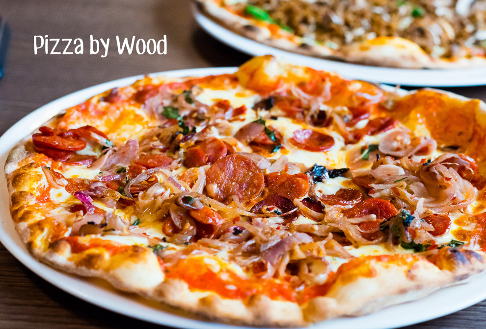 Pizza by Wood Cover