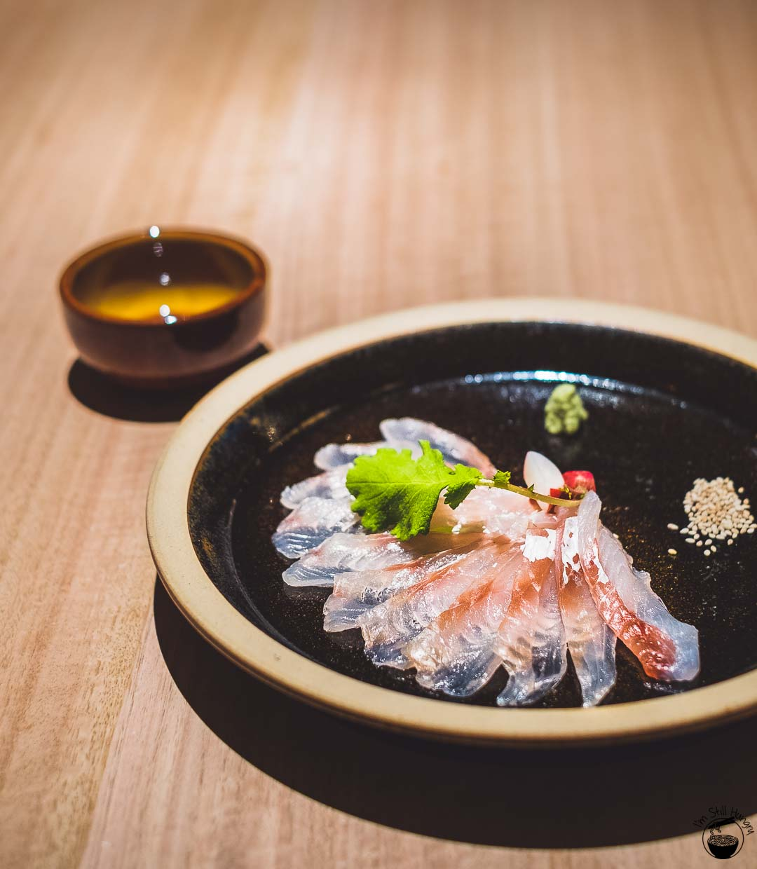 Restaurant Sasaki Surry Hills-14 Gurnard, sakura & kombu