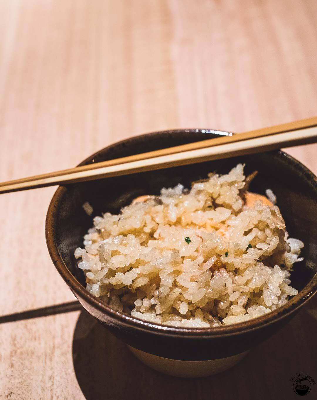 Restaurant Sasaki Surry Hills-19 Salmon & rice