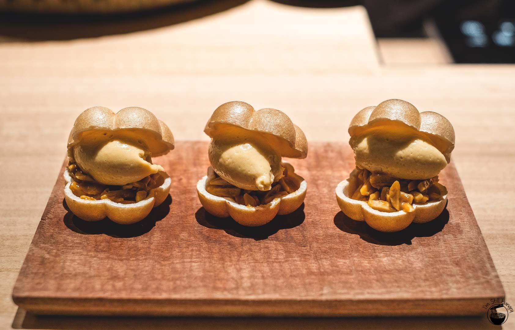 Restaurant Sasaki Surry Hills Second Visit-12 Caramel & nuts
